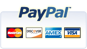 Paypal, trusted and secure.